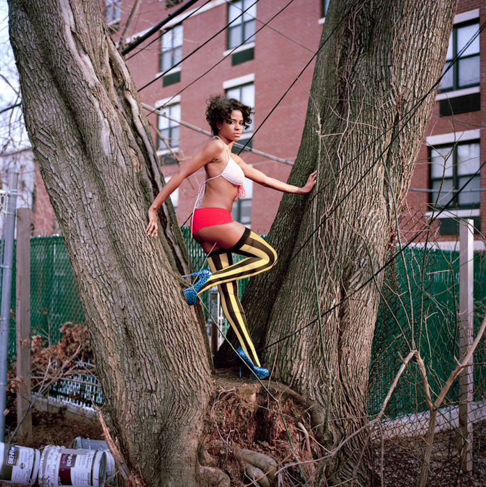 Bunnie (Tree), 22, Harlem, New York City