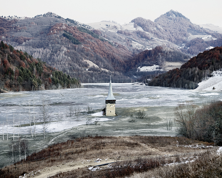 The Flooded Village of Geamana (Geamana, Central Romania), 2011