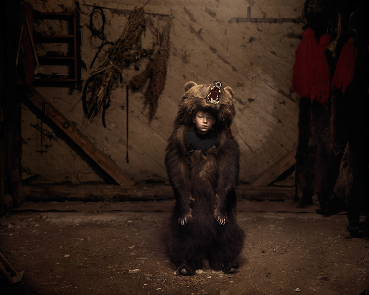 Ciprian, the Bear Dancer (Salatruc, East Romania), 2013