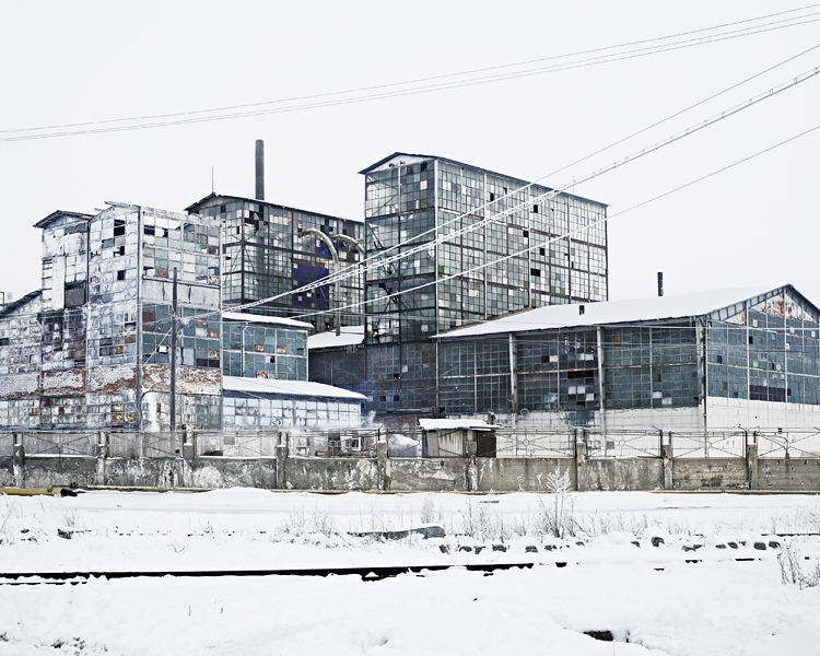 Sodium Factory (Ocna-Mures, Central Romania), 2012