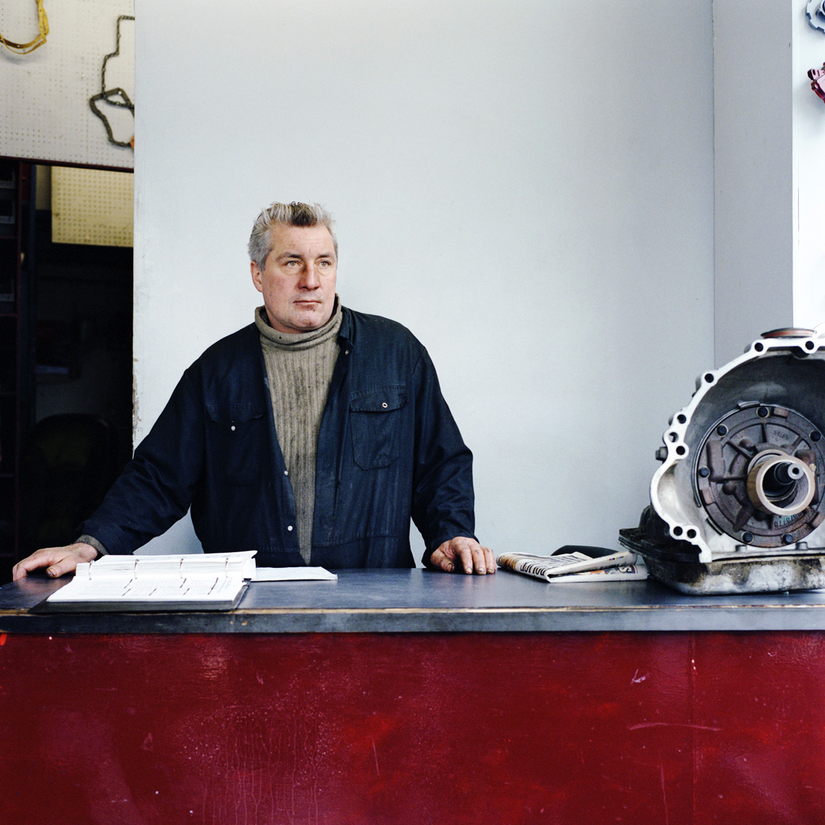 Harry Moran is a mechanic at Hornsey Automatic Transmissions Ltd.MŽtier, 2013