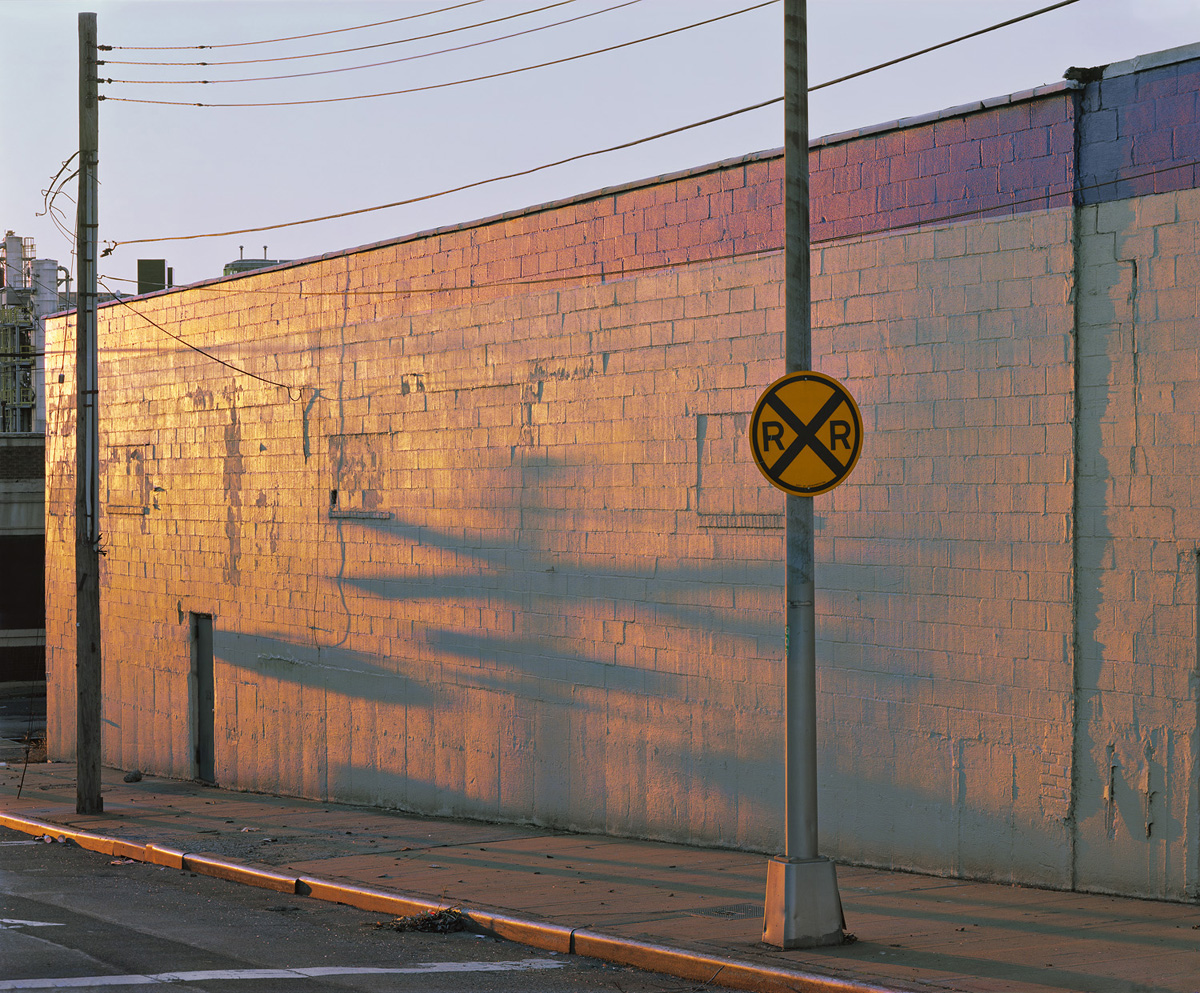 John Sanderson_08- Crossing Shadow at Dusk- Blissville- New York 2012_o