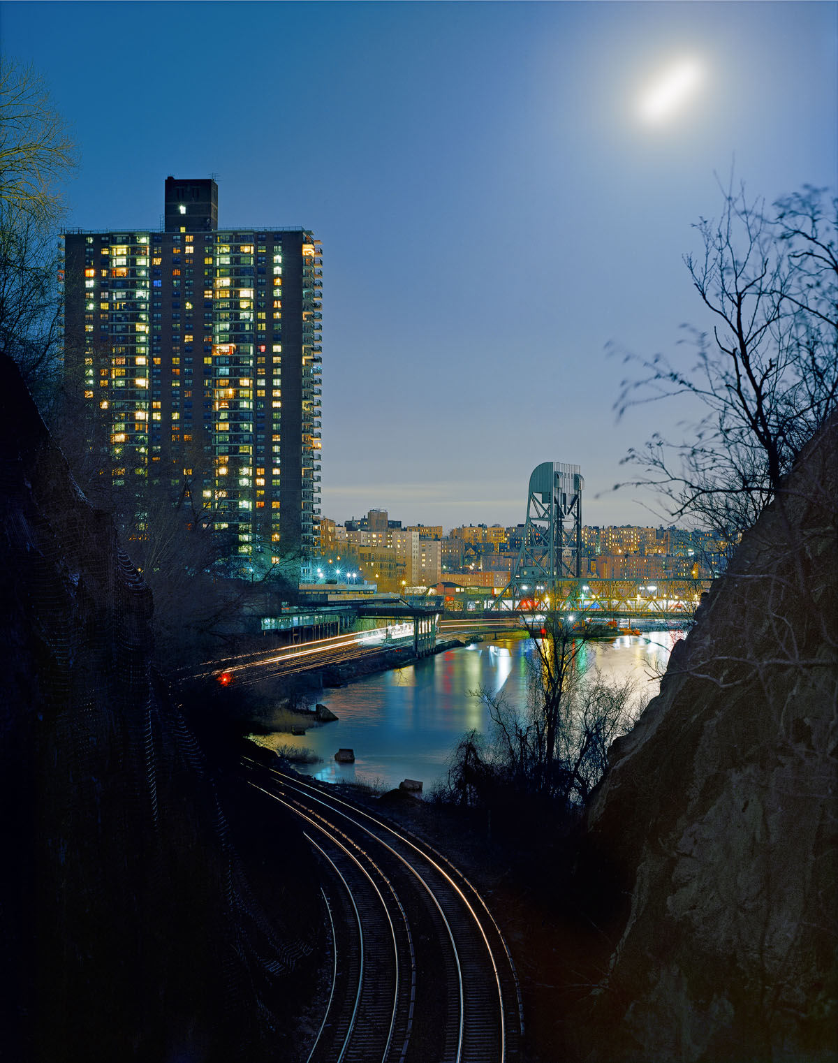 John Sanderson_01-Marble Hill Station- as seen from Spuyten Duyvil- New York_o