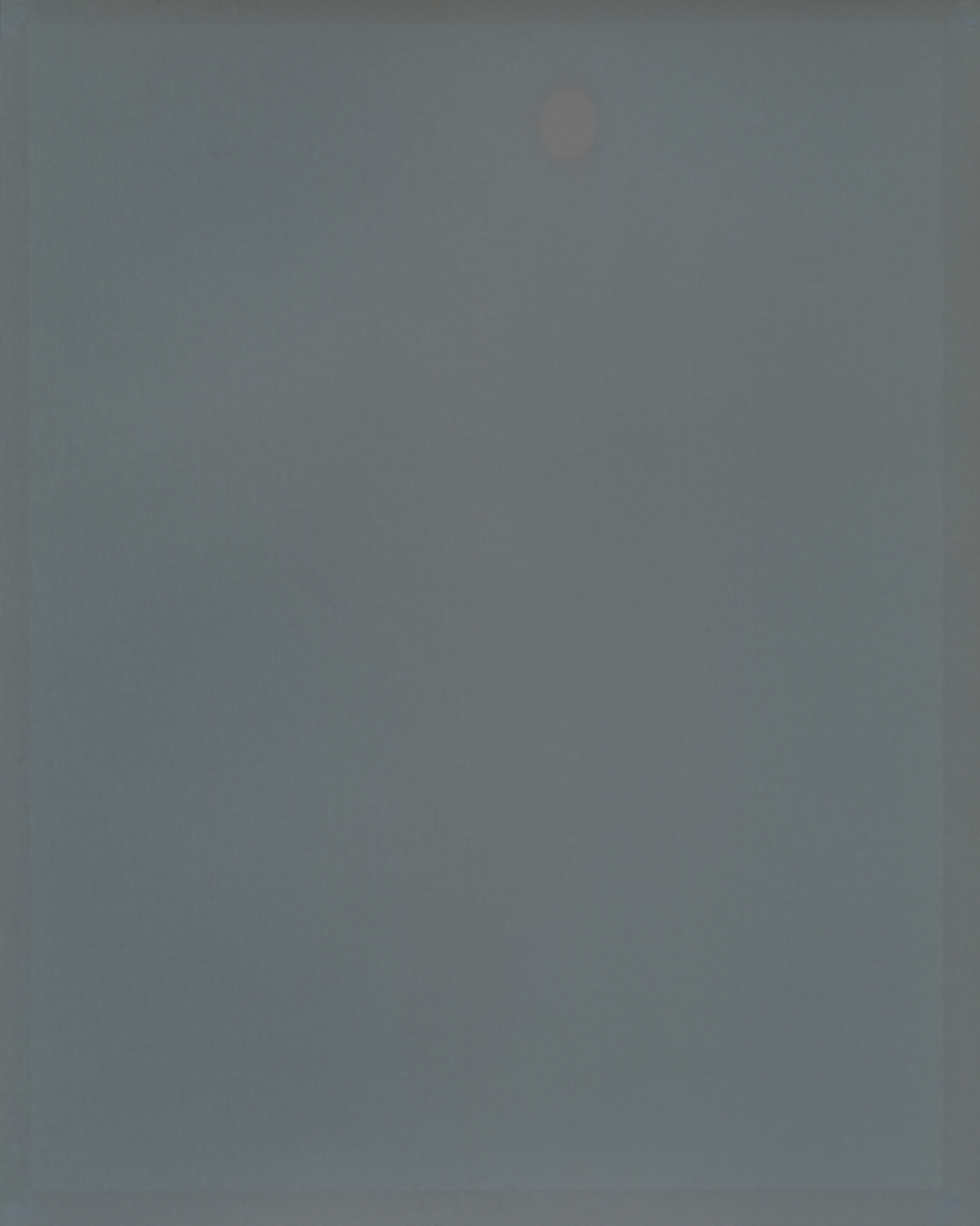Glowing moon over the Atlantic, 2012 8 x 10 Disappearing Photograph on Gelatin Silver Paper, Exposed for two weeks
