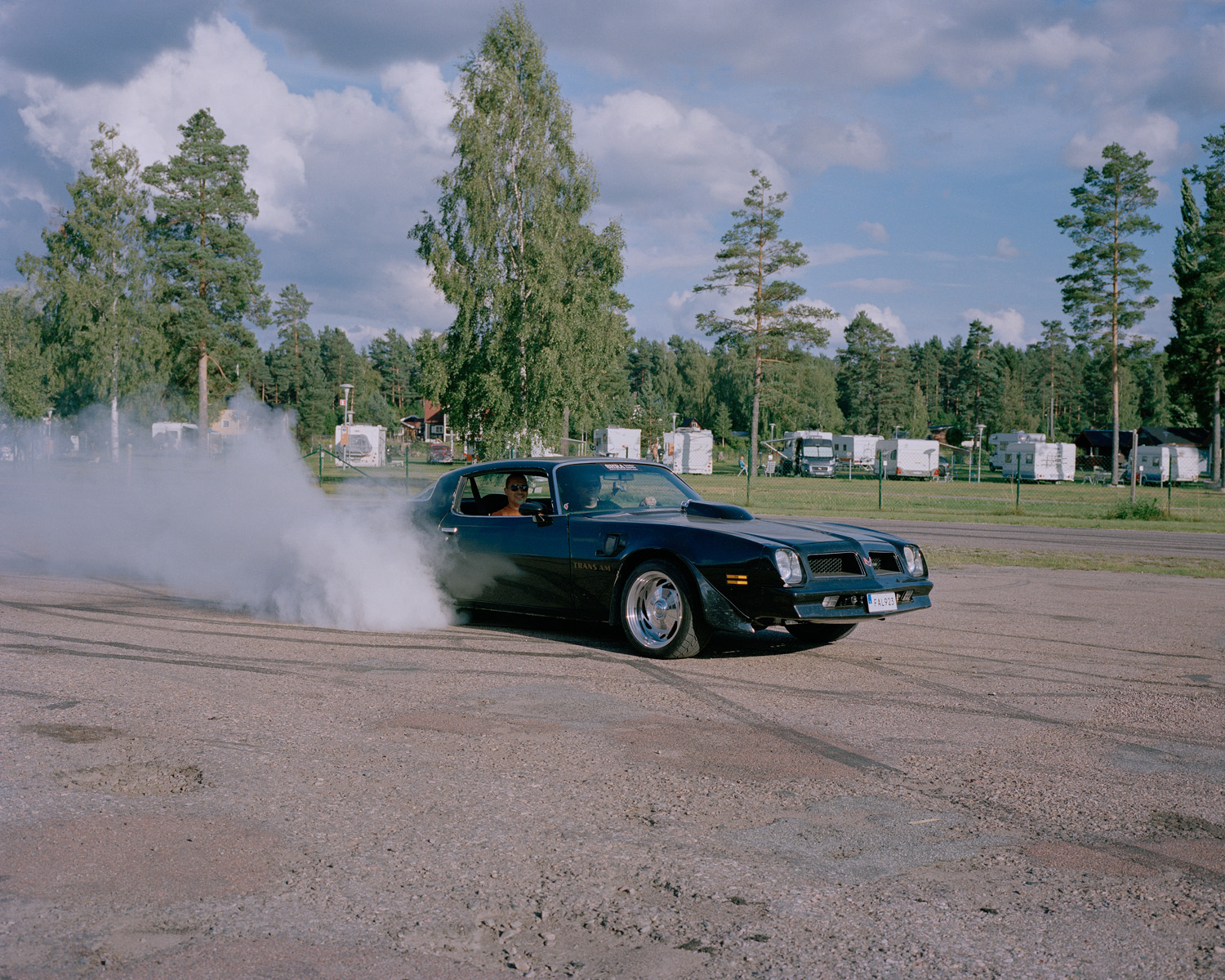 Burnout, Vansbro, July 2014