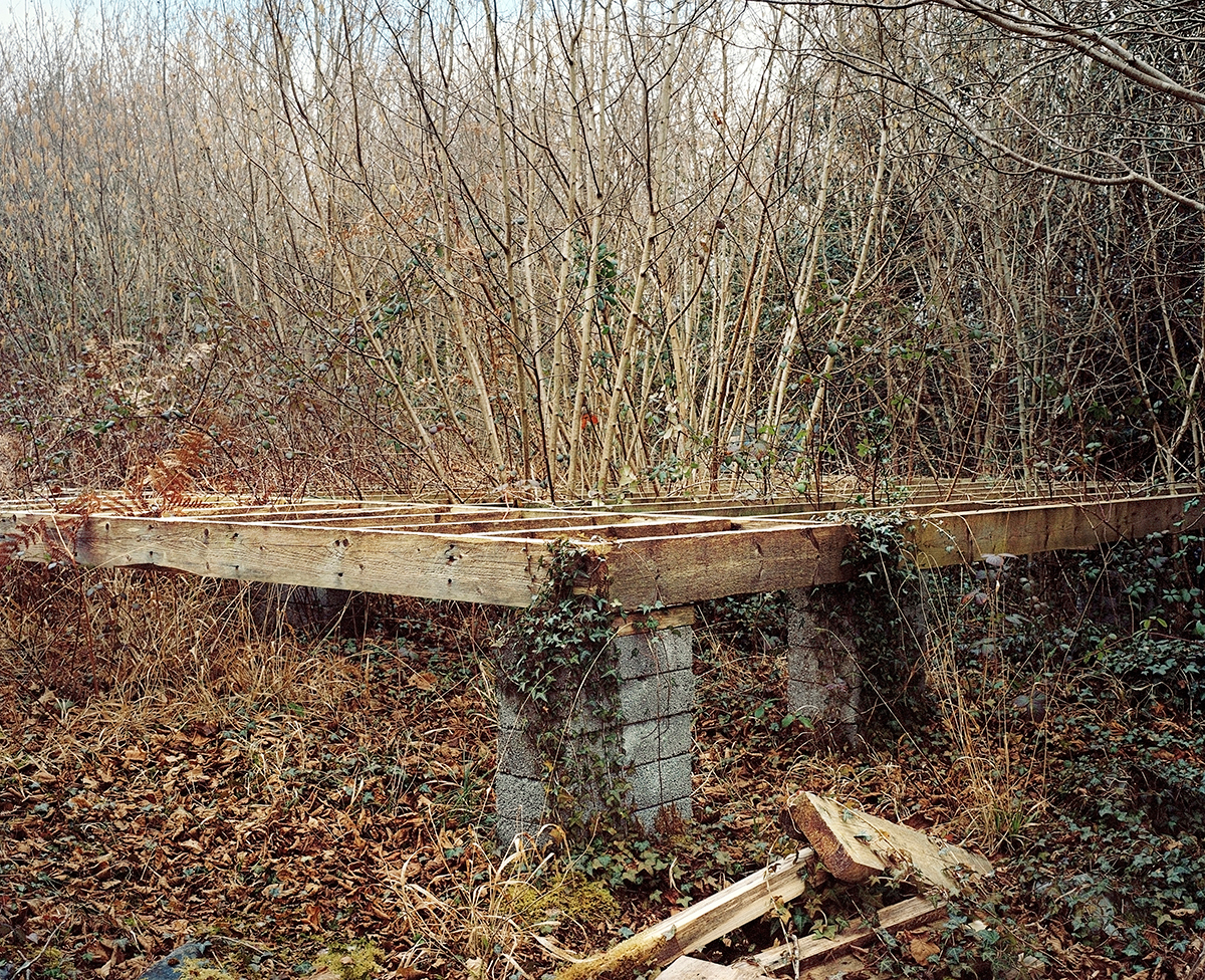 Abandoned foundations, March 2010