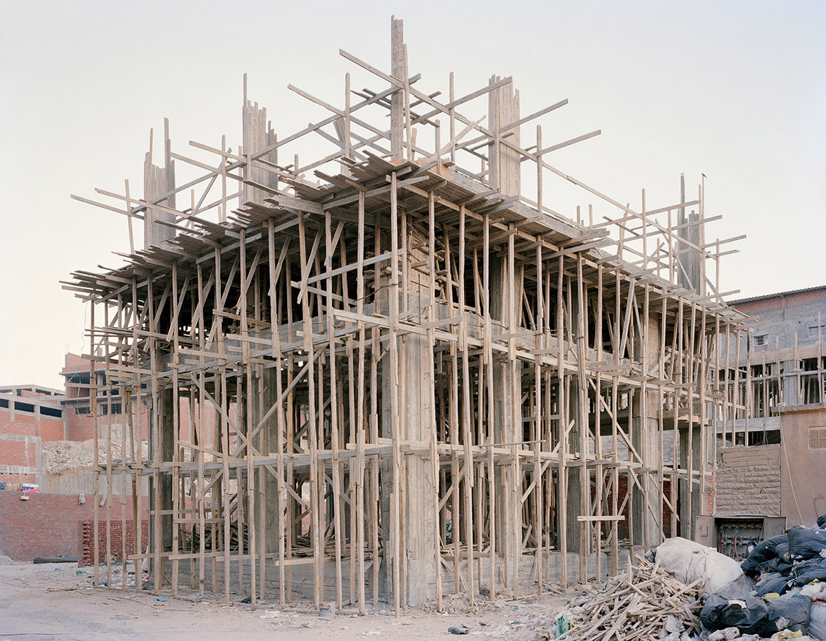 Construction in Manshiet Nasser, Cairo. 2012.