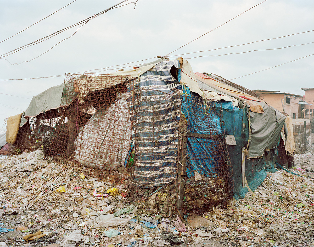 Trash Picker's Home; Sitio Damayan, Manila. 2013.