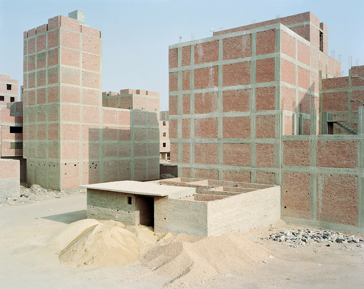 Construction along Ring Road; Maryouteya, Cairo. 2012.