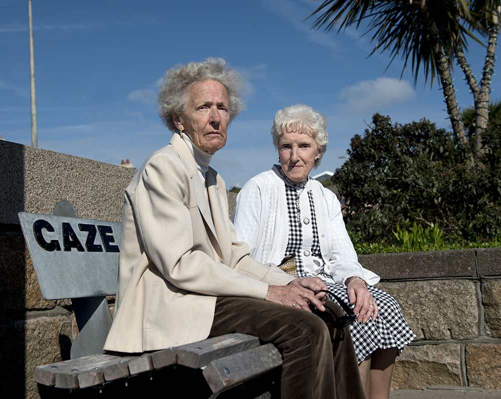 Marjorie and Laura, La Route de la Liberation, Jersey