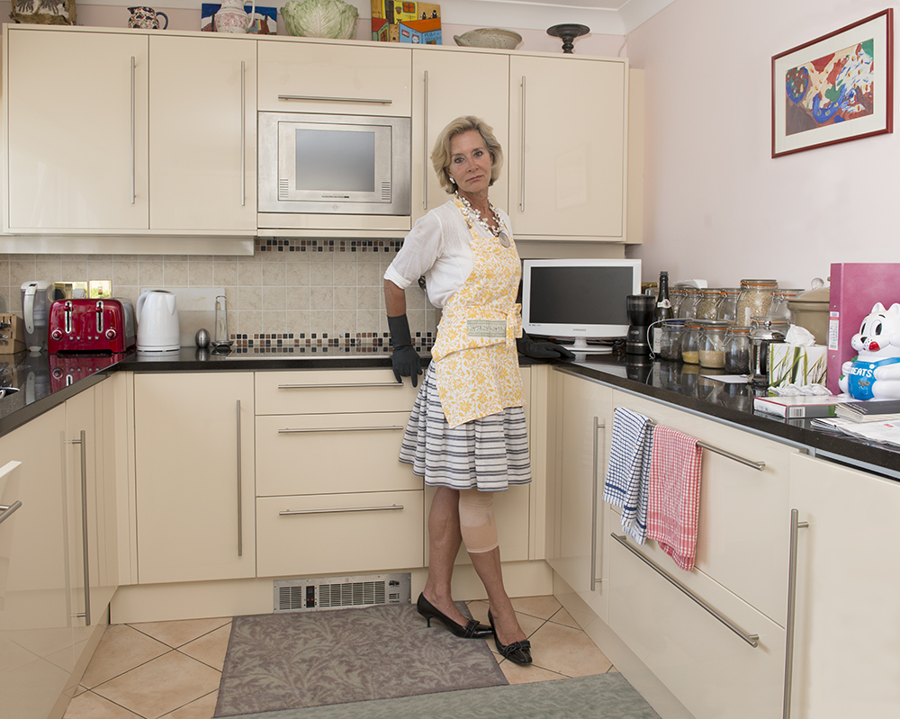 Anne Loseff, Fort George kitchen, St Peter Port, Guernsey