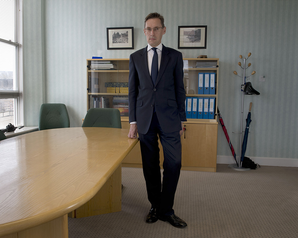 Senator Ian Gorst, Chief Minister, States of Jersey
