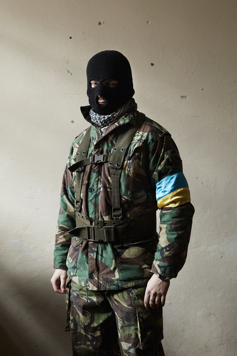 Oleg, Maidan defence group, Kalush, February 2014