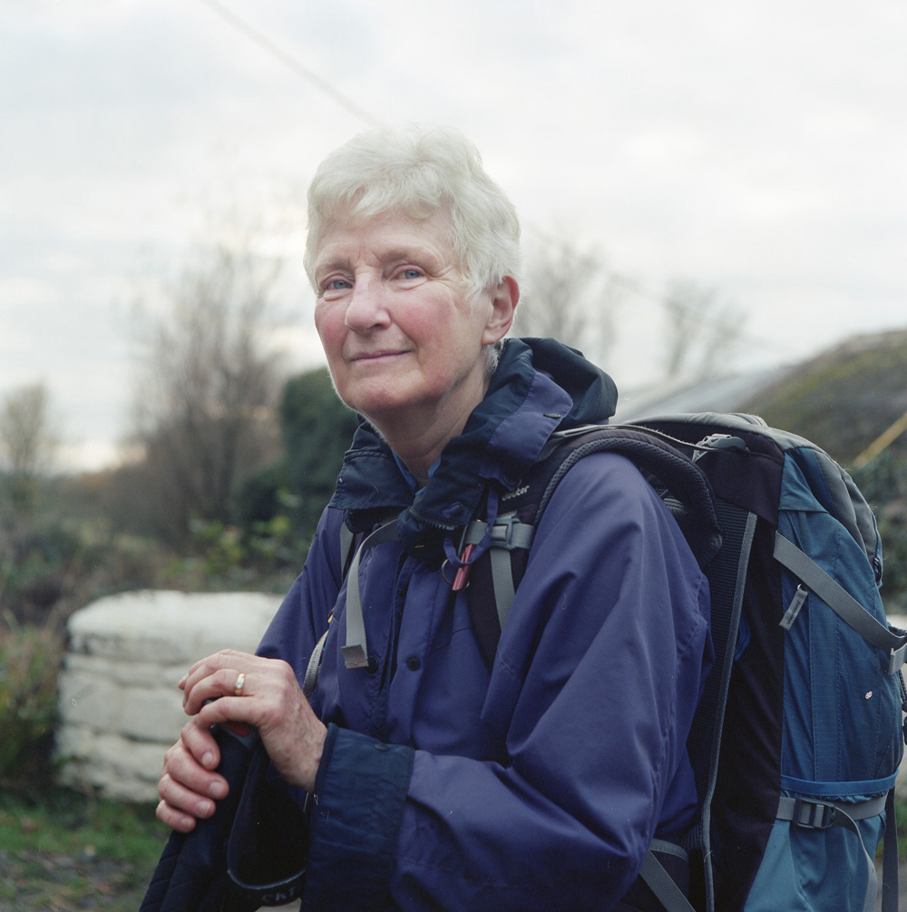 Linda Blackwell moved from Canada to Pembrokeshire over ten years ago. She formed the Carmarthenshire ramblers club, a club dedicated to walking the historical paths once traditionally walked by pilgrims and travelers hundreds of years ago.