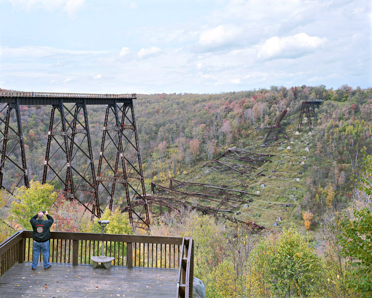 John_Sanderson_6_Kinzua Rail bridge, Pennsylvania (2014)