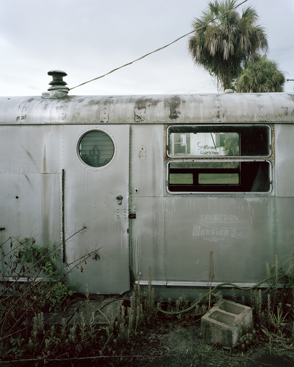 Abandoned trailer, Rockledge, FL