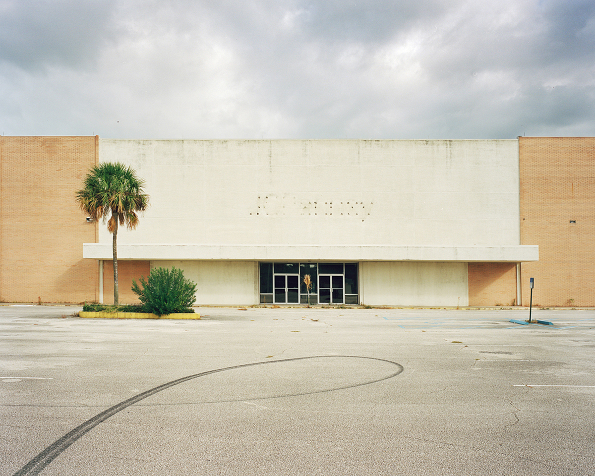 Abandoned JC Penney, Miracle City Mall, Titusville 2013