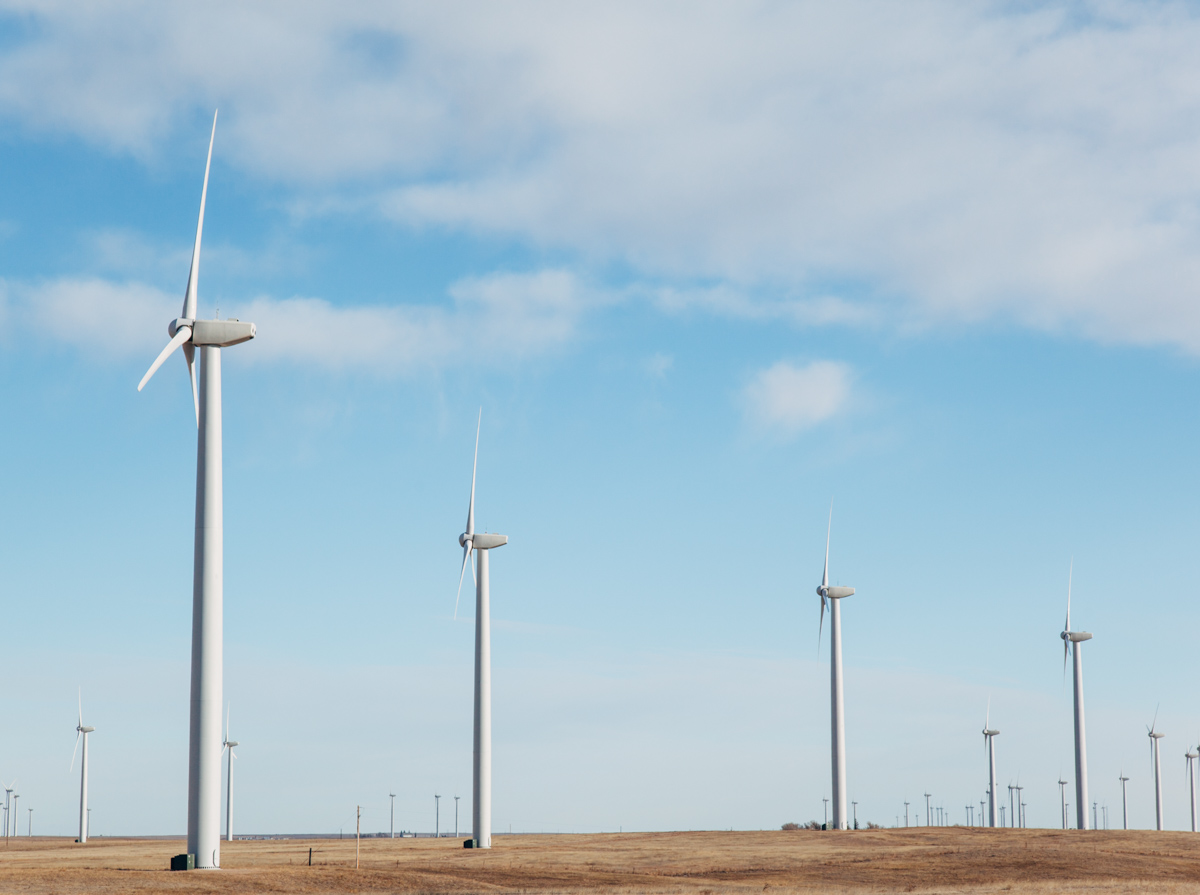 Wind Farm on the Pawnee National Grassland