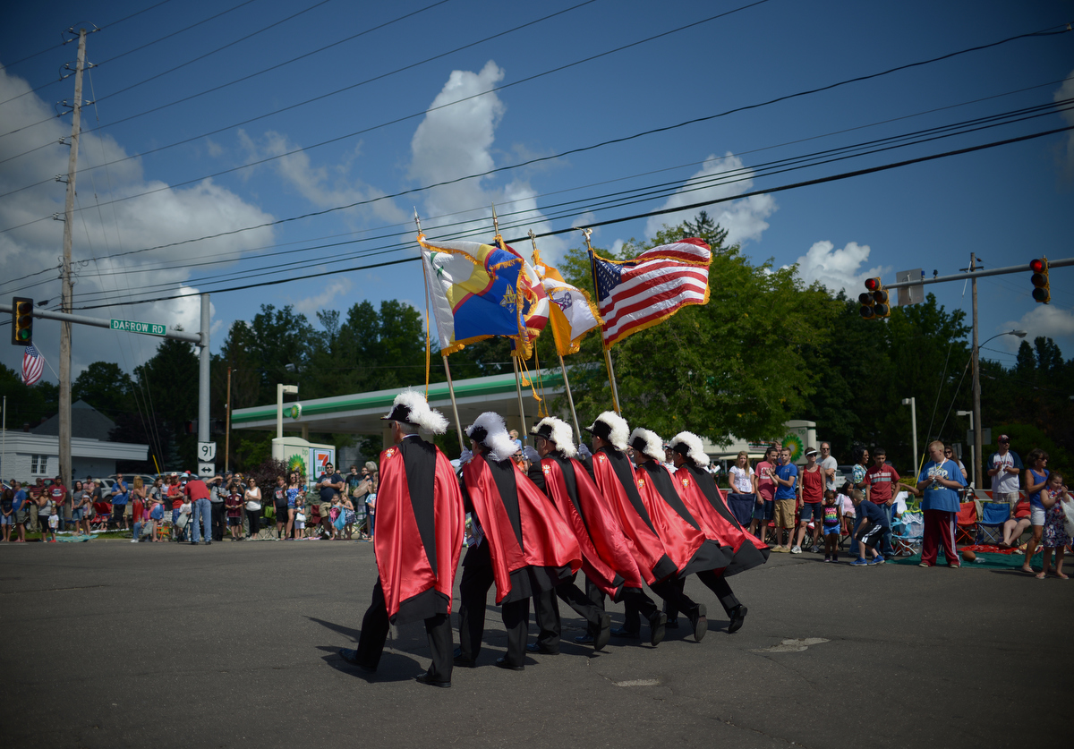The Independence Day parade in Stow, Ohio on 7/4/14. Photo by Pat Jarrett