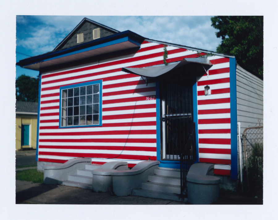 McCabe - Red, White, and Blue House, LA
