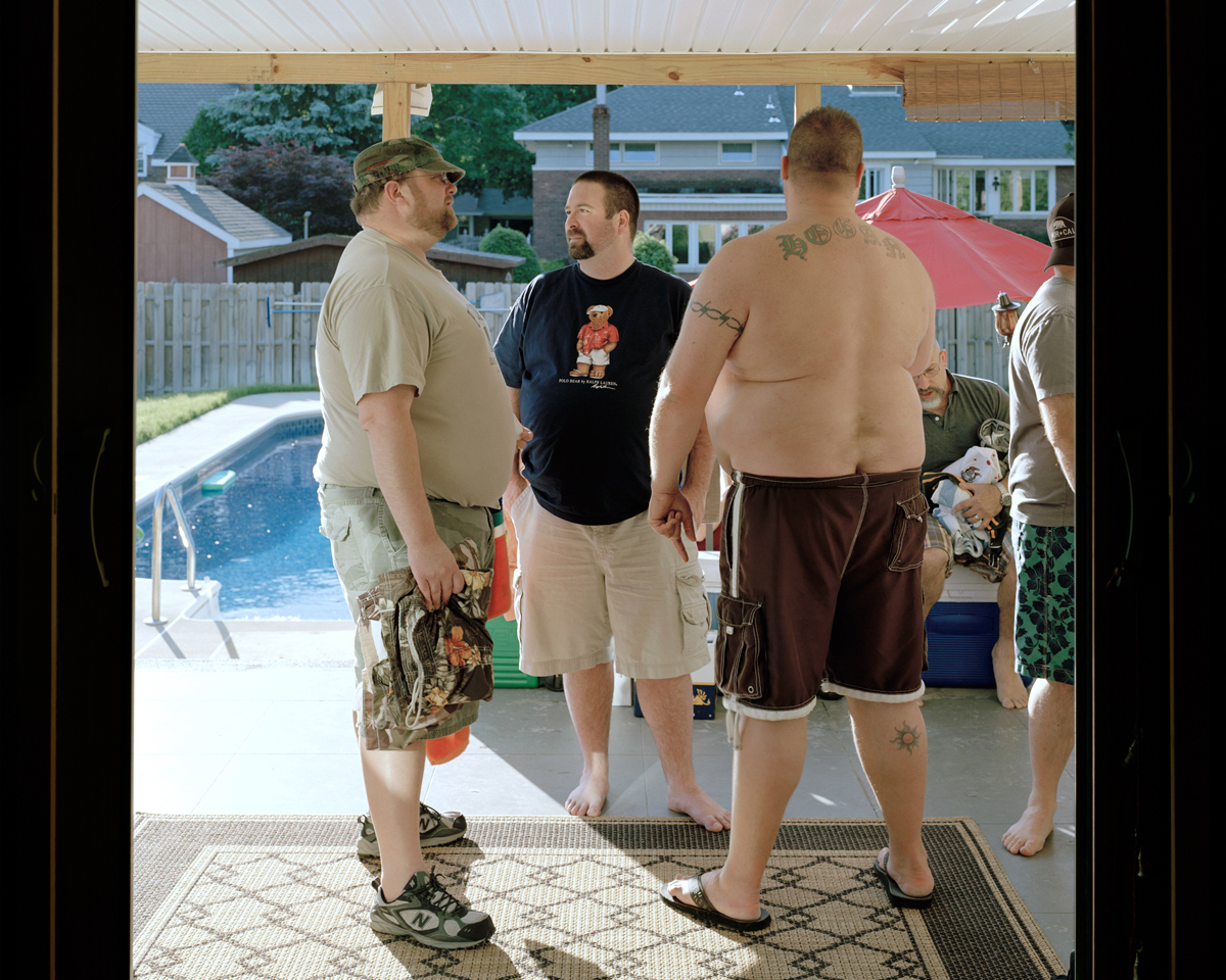 Peter, James, and John - Memorial Day Pool Party (Albany, NY), 2009