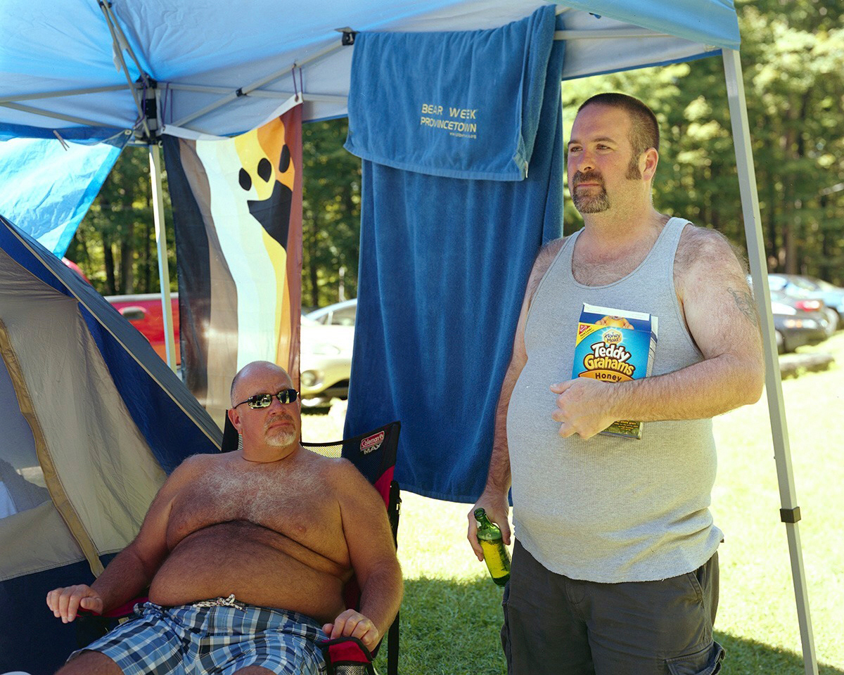 Sean and James - Hillside Campgrounds (Gibson, PA), 2012