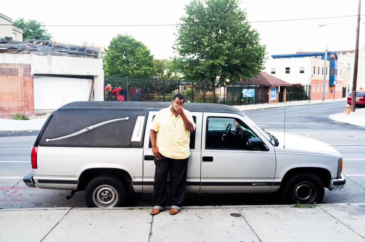 West Philly Hearse, 40th and Spring Garden, Philadelphia, PA