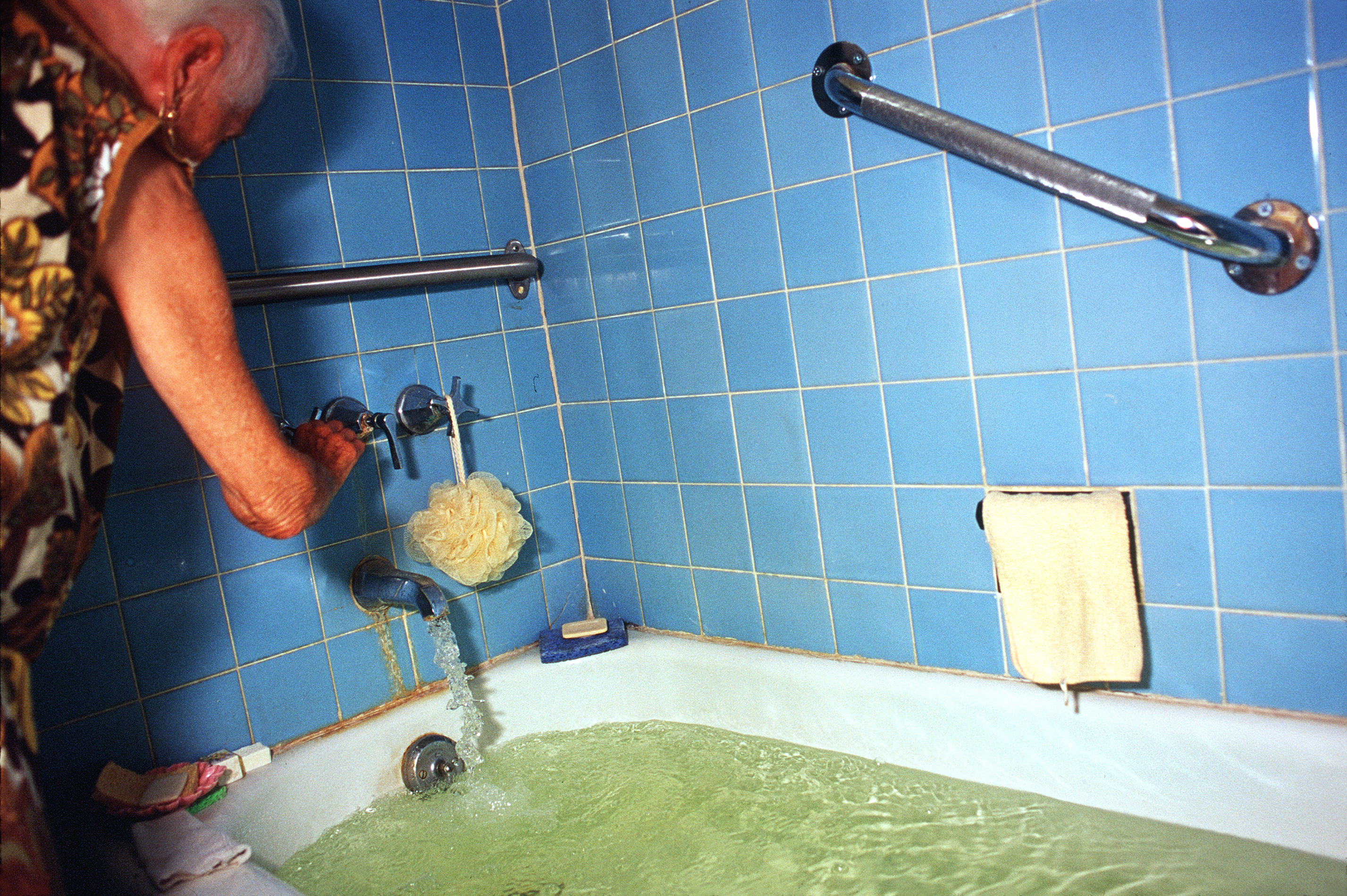 Pearl's Drawing a Bath, 2000