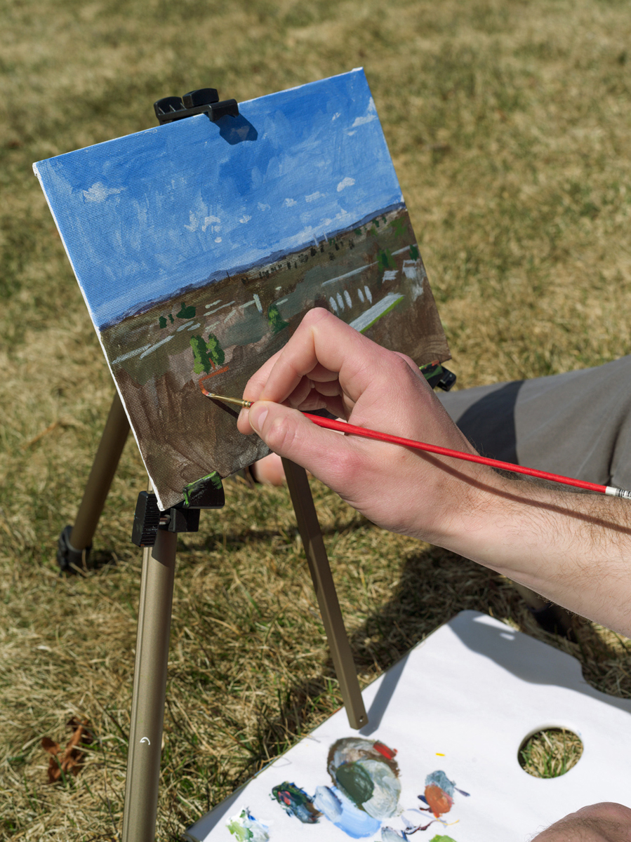 Open Air Painter, Portland, ME 2014