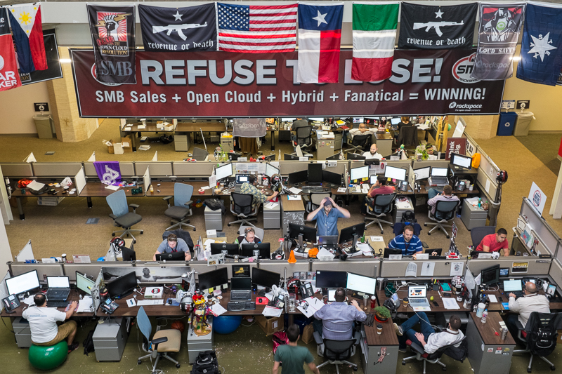6 Rackspace Inc. Sales Department – San Antonio, Texas