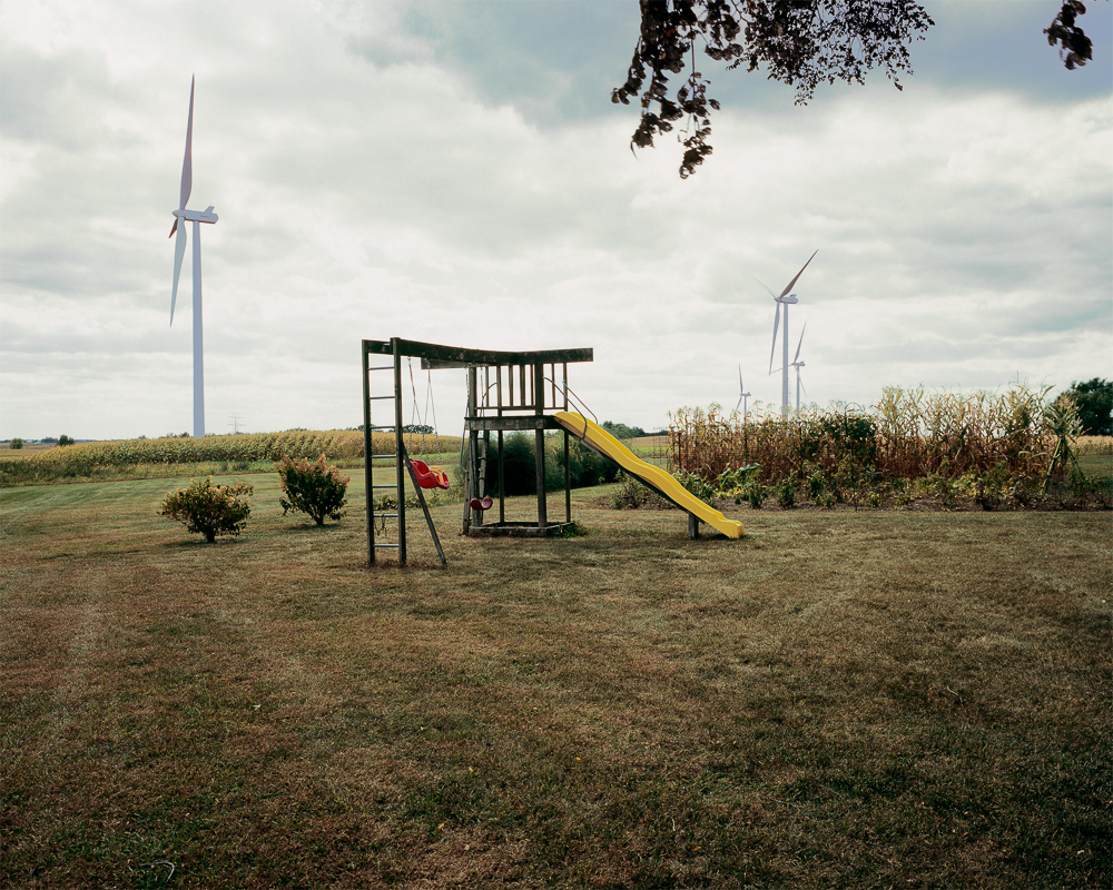 Backyard Swing Set, Glacier Hills Wind Farm, Columbia County,Wisconsin (GH0113), 2011
