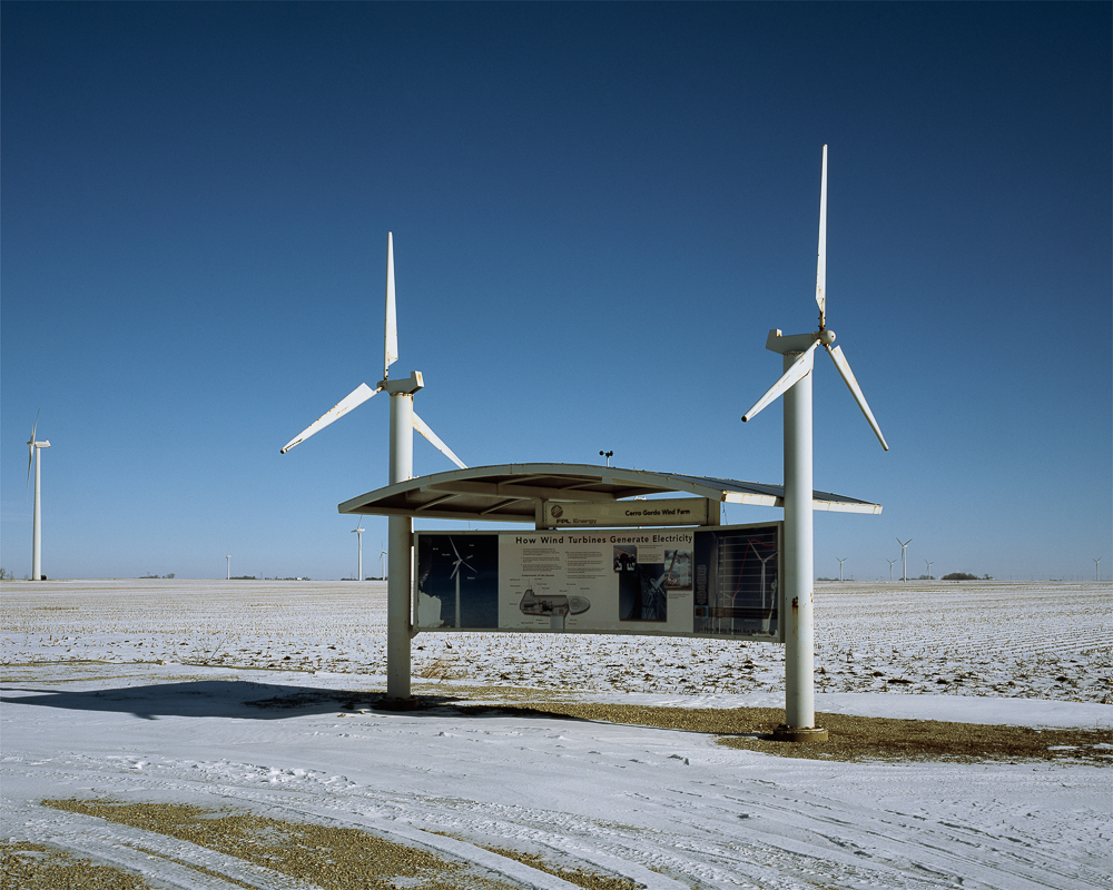 Information Kiosk, Cerro Gordo Wind Farm, Ventura, Iowa (CGWF0104), 2013