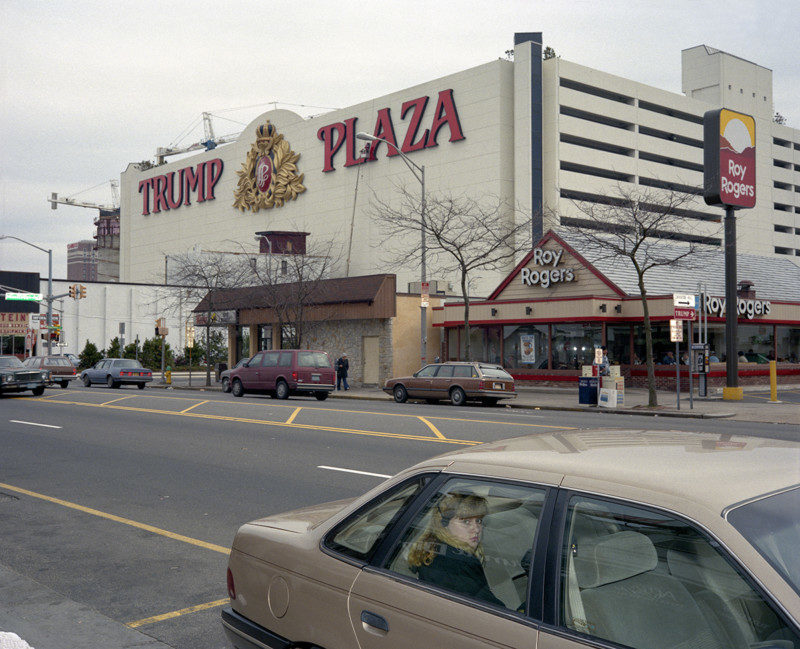 Girl in Car, Trump Plaza, Atlantic City, 1989