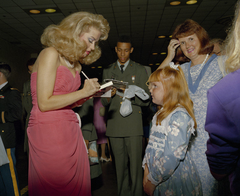 Autograph, Contestant, Mother Daughter, Miss America Pageant, Atlantic City, 1989